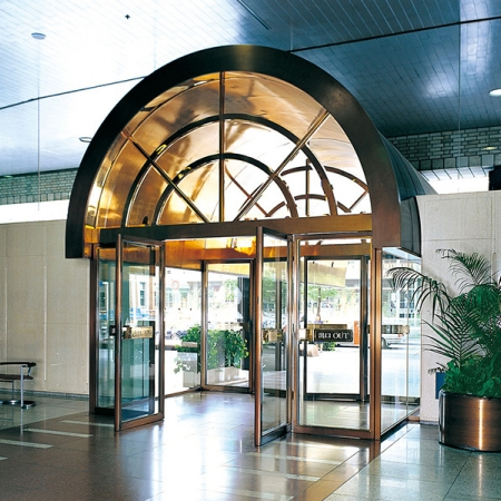 Automatic Door DF-41 Swing Folding